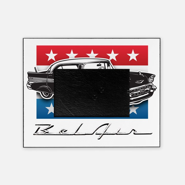 1957 Chevrolet Bel Air Picture Frame