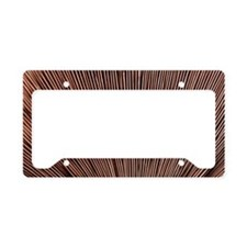 Fungus gills License Plate Holder