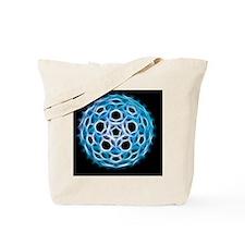 Fullerene molecule, artwork Tote Bag