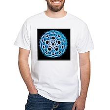 Fullerene molecule, artwork Shirt