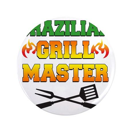 """Brazilian Grill Master Apron 3.5"""" Button"""