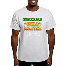 Brazilian Grill Master Dark Apron T-Shirt