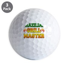 Brazilian Grill Master Dark Apron Golf Ball