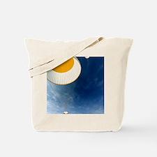 Gagarin's return to Earth, 1961 Tote Bag