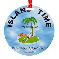 Island Time Brewing Company Ornament