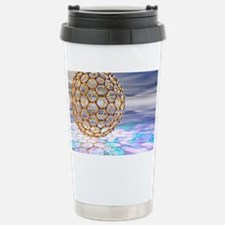 Fullerene molecule Travel Mug