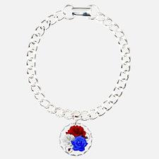 Patriotic Flowers Bracelet