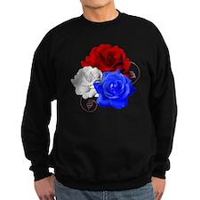 Patriotic Flowers Sweatshirt