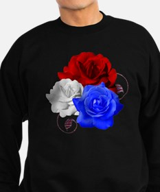 Patriotic Flowers Sweatshirt