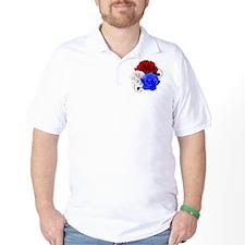 Patriotic Flowers T-Shirt