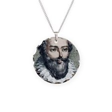 Francois Viete, French mathe Necklace
