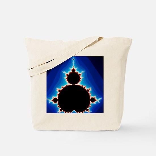 Fractal geometry showing Mandelbrot Set Tote Bag