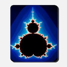 Fractal geometry showing Mandelbrot Set Mousepad