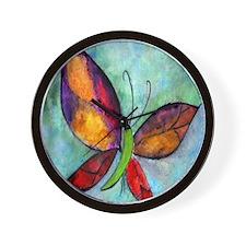 Butterfly Art Wall Clock