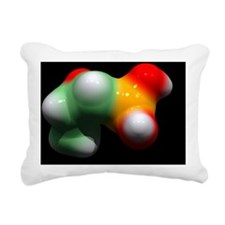 Fosfomycin antibiotic dr Rectangular Canvas Pillow
