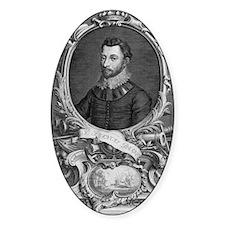 Francis Drake, English explorer Decal