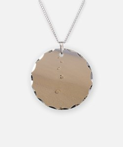 Footprints in sand Necklace