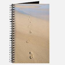 Footprints in sand Journal
