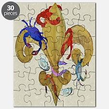 Cajun Fleur de lis Puzzle