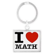 I love Math Landscape Keychain