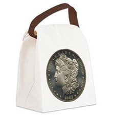 1882 Silver Dollar PCGS PR67 CAM Canvas Lunch Bag