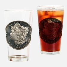 1882 Silver Dollar PCGS PR67 CAM Drinking Glass
