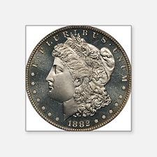 "1882 Silver Dollar PCGS PR6 Square Sticker 3"" x 3"""