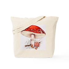 Fly agaric mushrooms Tote Bag
