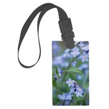 Forget-me-nots (Myosotis sylvati Luggage Tag