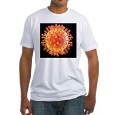 Flu virus particle, artwork Shirt