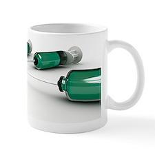 Flu vaccine, conceptual artwork Mug