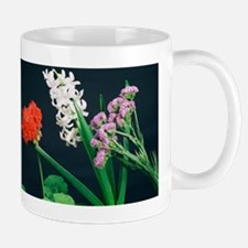 Flowers under white light Mug