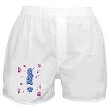Flu pandemic, conceptual artwork Boxer Shorts