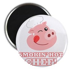 Smokin Hot Chef Magnet