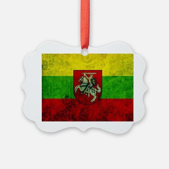 Lithuania Flag Ornament