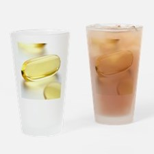 Fish oil capsules Drinking Glass