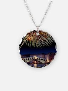 Fireworks display, Venice Necklace