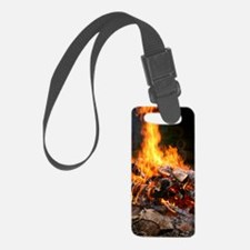 Fire Luggage Tag