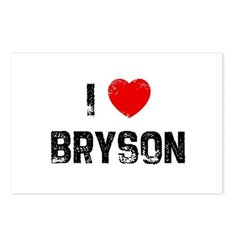 I * Bryson Postcards (Package of 8)