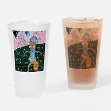 Dwayne and Cain Drinking Glass