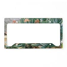 Fan aloe (Aloe plicatilis) License Plate Holder