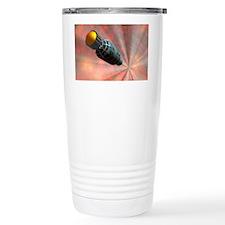 Faster-than-light travel, artwo Travel Mug