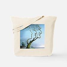 Family tree, conceptual artwork Tote Bag