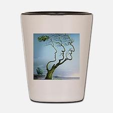 Family tree, conceptual artwork Shot Glass