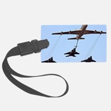 F15 jets being refueled by a Boe Luggage Tag