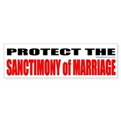 Protect the Sanctimony of Marriage