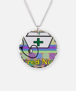 retired nurse serving tray b Necklace