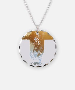 Wakeboard T Necklace