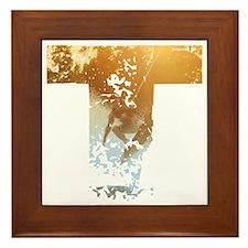 Wakeboard T Framed Tile