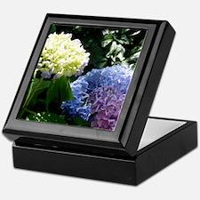 Hydrangeas Keepsake Box